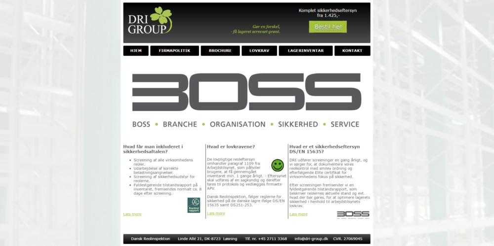 DRI Group Ravn Hjemmesider