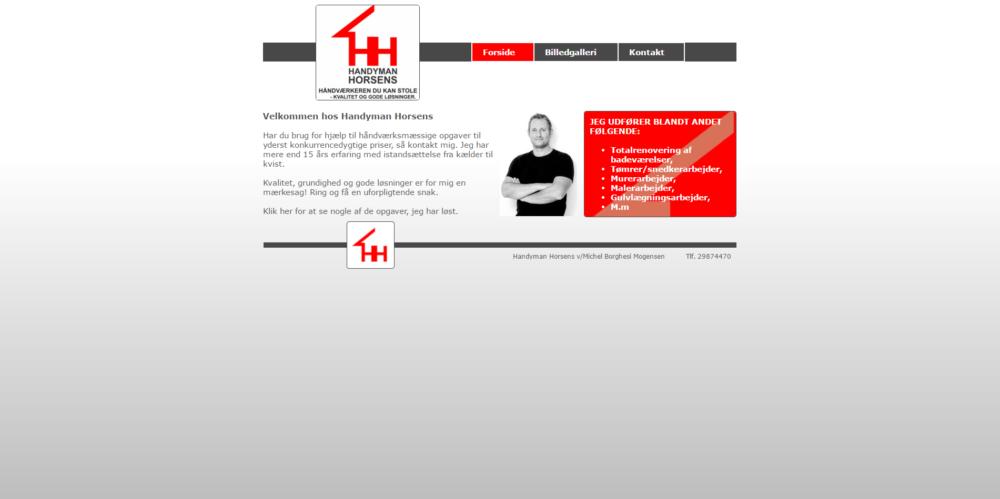 Handyman Horsens Ravn Hjemmesider