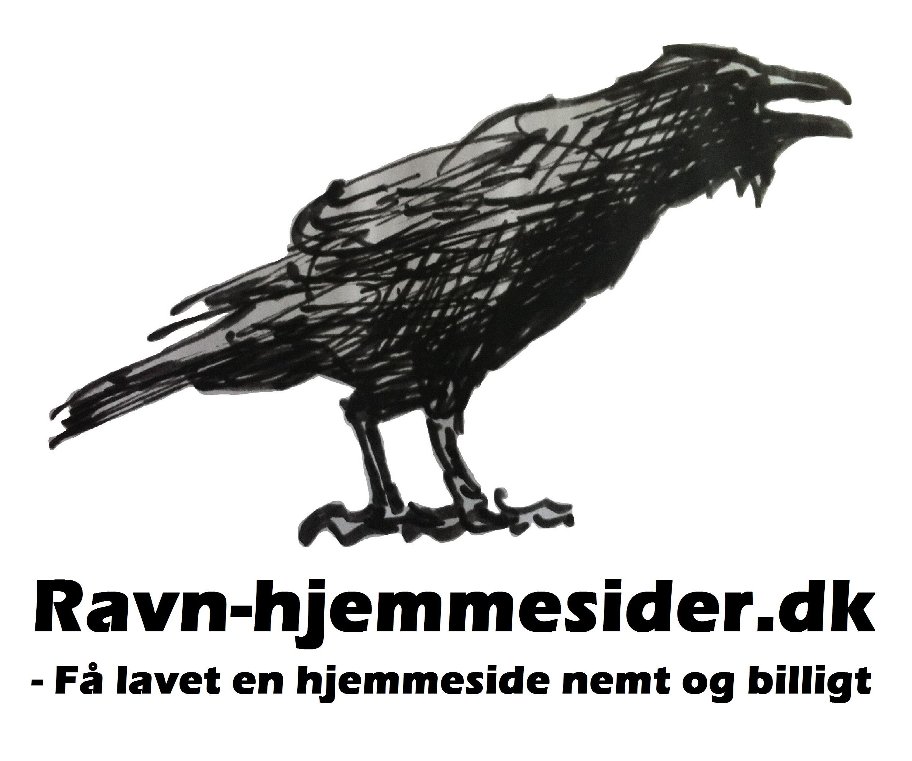 Gammelt logo Ravn Hjemmesider