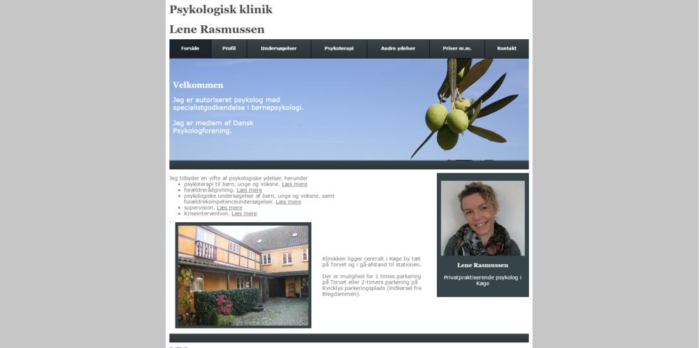 Psykolog Lene Rasmussen Ravn Hjemmesider