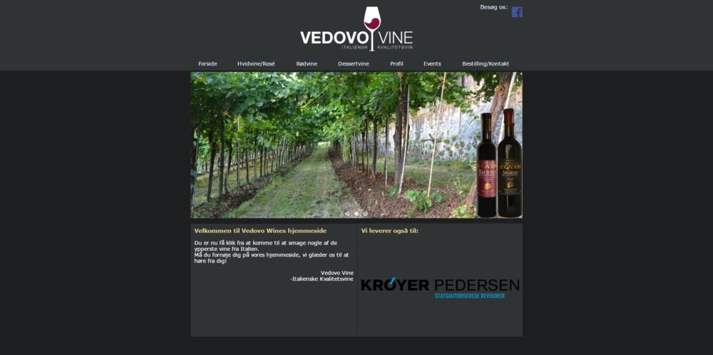 Vedovo Wine Ravn Hjemmesider