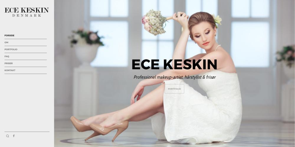 ECE Keskin Ravn Hjemmesider
