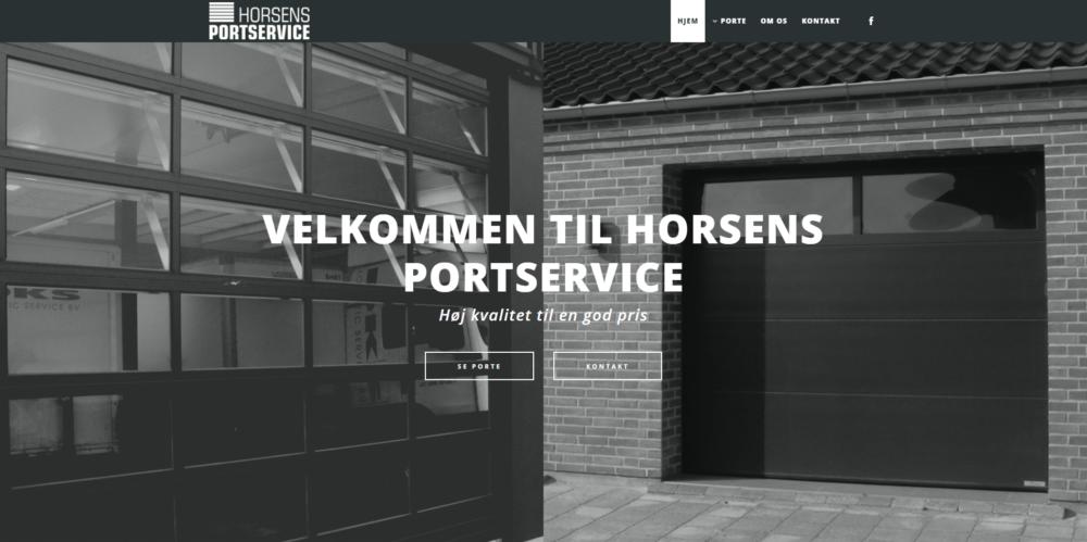 Horsens Portservice Ravn Hjemmesider