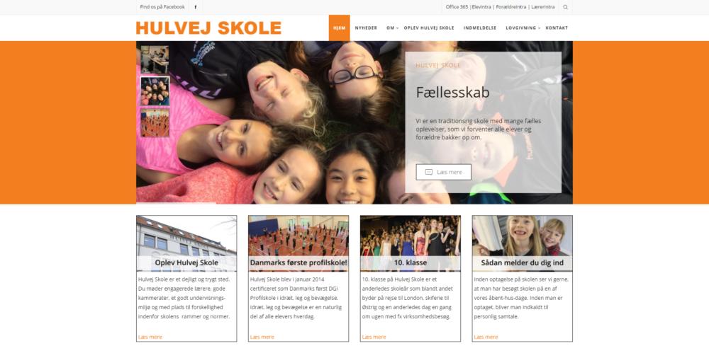 Hulvej Skole Ravn Hjemmesider