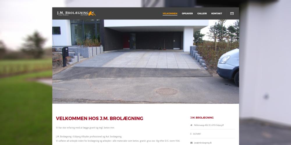 J.M. Brolægning Ravn Hjemmesider
