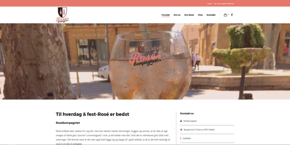 Rosekompaniet Ravn Hjemmesider
