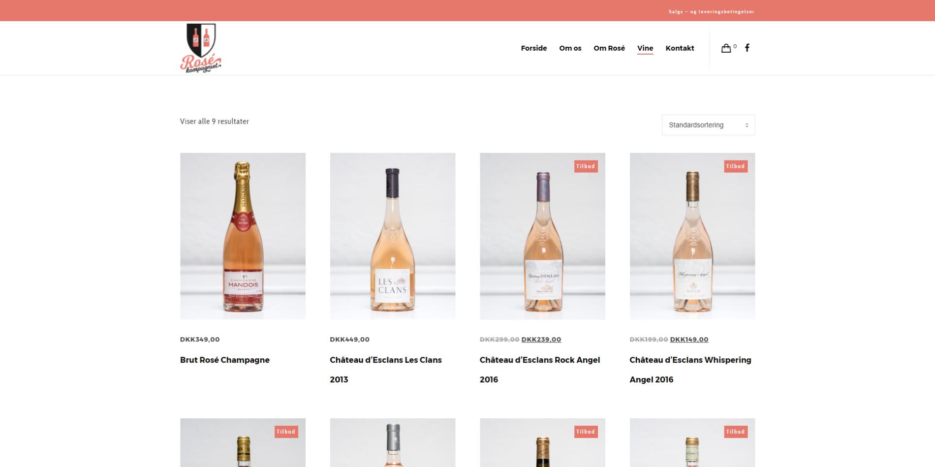 Billig webshop Ravn Hjemmesider